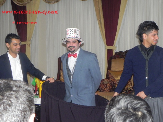Birthday magician Raj one of the famous Magicians